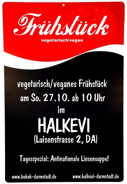 uffbasse darmstadt » sonntag: vegetarisch/veganes frühstück im halkevi, Einladung